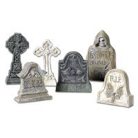 Sale $3 Off - 6 pc Tombstones - Product Image