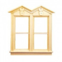 Double Fancy Victorian Window - Product Image