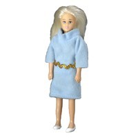 Vinyl DollHouse Doll - Blonde Mom - Product Image