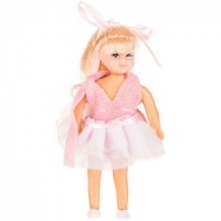 Vinyl DollHouse Doll - Modern Blonde Girl - Product Image