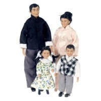 The Lees (Asian Family) - Product Image