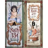 § Sale .50¢ Off - Dollhouse Bathroom Prints 5 - Product Image