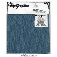 § Disc $4 Off - Moiré Fabric Wedgewood - Product Image