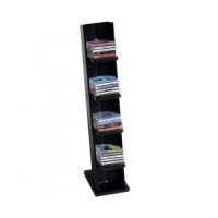 (*) Tall Dollhouse CD Rack with CDs - Product Image