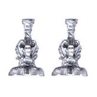 2 Ornate Dollhouse Candlesticks - Product Image