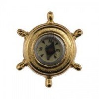Sale $1 Off - Miniature Ship's Compass - Product Image