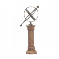 Dollhouse Armillary Sphere On Pedestal - Product Image
