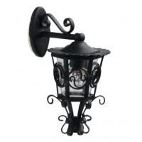 Dollhouse Rod Iron Carriage Lamp - Product Image