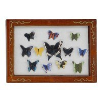 § Disc. $1 Off - Dollhouse Framed Butterflies Collection - Product Image