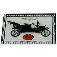 Dollhouse Auto Ford Mirror Sign - Product Image