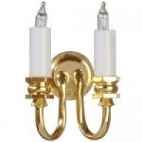 Double Colonial Wall Sconce - Product Image