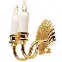 Double Shell Wall Sconce - Product Image