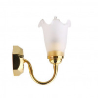 Single-Tulip Wall Sconce - Product Image
