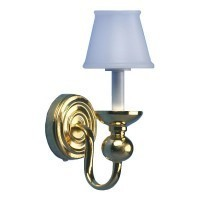 1 Arm Wall Sconce with Shade - Product Image