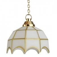 (*) Dollhouse White Hanging Tiffany - Product Image