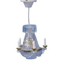 Dollhouse Hanging Crystalene Chandelier - Product Image