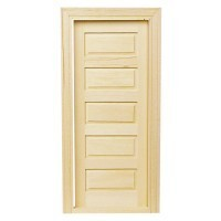 5 Panel Traditional Door - Product Image