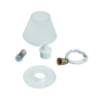 Dollhouse Lamp Shade Kit, Plain Clear - Product Image