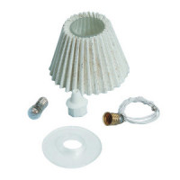 Dollhouse Lamp Shade Kit, Pleated - Product Image
