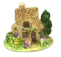 Dollhouse Miniature Mini Cottage - Product Image
