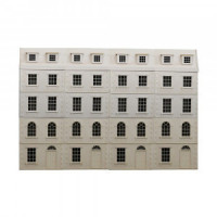 London Row House Dollhouse (Kit) - Product Image