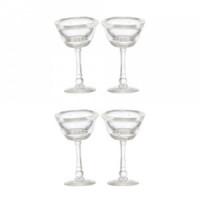 4 pc Dollhouse Martini Glass Set - Product Image