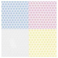 Dollhouse Large Hexagon Tile Flooring- Choice of Color - - Product Image