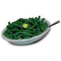 Dollhouse Bowl of Green Beans - Product Image