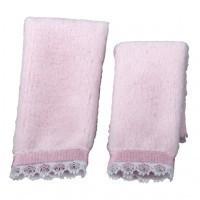 Dollhouse 2 pc Towel Set - Pink - Product Image