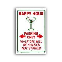 (§) Sale .20¢ Off - Dollhouse Happy Hour Sign - Product Image