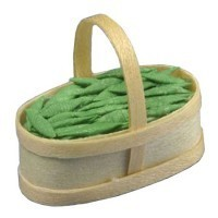 Dollhouse Basket Pea Pods - Product Image