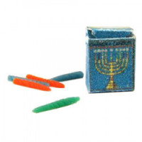 Dollhouse Chanukah Candles Box - Product Image