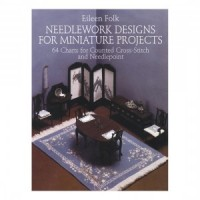 Disc $4 Off - Needlework Designs For Miniatures - Product Image