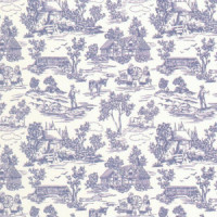 3 Shts - Dollhouse Champagne Toile Paper- Choice of Color - - Product Image