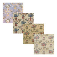 (§) Sale $3 Off - 3 Shts Du Barry Wallpaper- Choice of Color - - Product Image