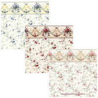(§) Sale $3 Off - 3 Shts Sonata Wallpaper- Choice of Color - - Product Image