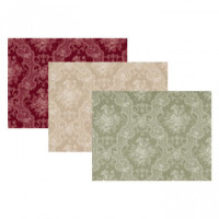 (§) Sale $1 Off - 2 Shts English Rose Paper- Choice of Color - - Product Image