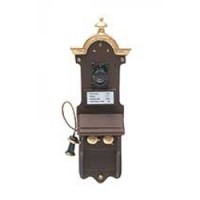 § Disc $25 Off - Dollhouse Pewter Wall-phone - Product Image