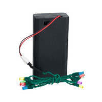 String of 12 Color LED Lights - Product Image