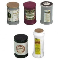 Disc $1 Off - Dollhouse Vintage Food Can Set - Product Image