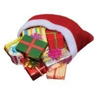 (*) Dollhouse Filled Santa's Bag(s) - Product Image