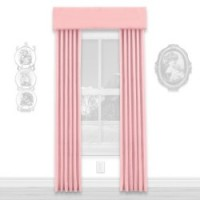 § Disc $5 Off - Dollhouse Pink Single Drape - Product Image