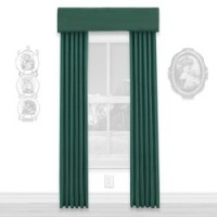 § Disc $5 Off - Dollhouse Dark Green Single Drape - Product Image