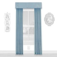 § Disc $5 Off - Dollhouse Colonial Blue Single Drape - Product Image
