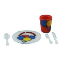 Sale $1 Off - Birthday Party Place Setting - Product Image