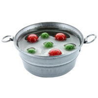 (*) Dollhouse Bobbing for Apples - Product Image
