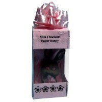Dollhouse Box with Chocolate Bunny - Product Image