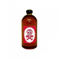 (**) Dollhouse Bottle of Poison - Product Image