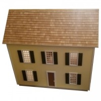 The Colonial Dollhouse Shell (Kit) - Product Image