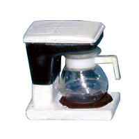 (*) Dollhouse Coffee Maker (Kit) - Product Image